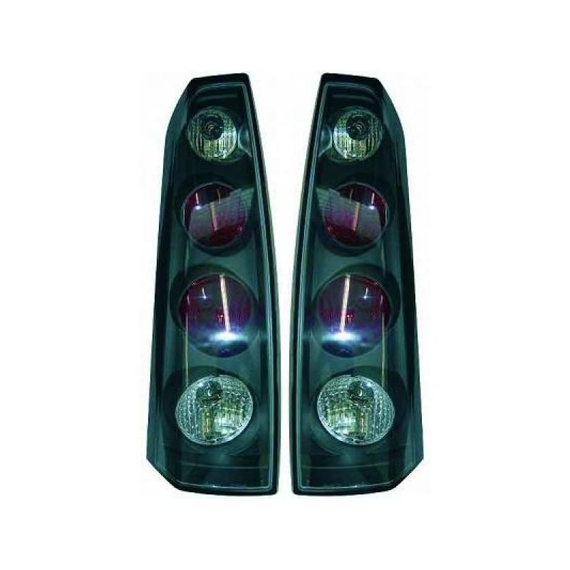 Feux arrières noir Opel MERIVA 4-portes apres 2003