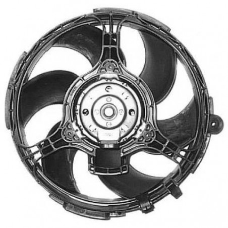 Motoventilateur complet FIAT STILO 2001 à 2008 315mm