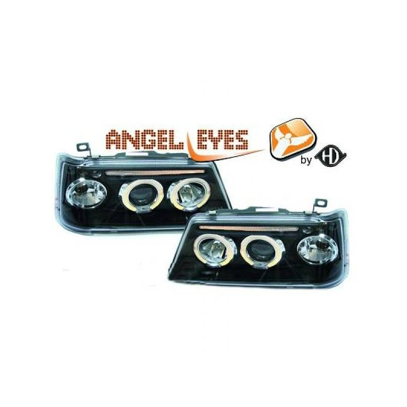 Phares angel eyes noir Peugeot 205 apres 1990