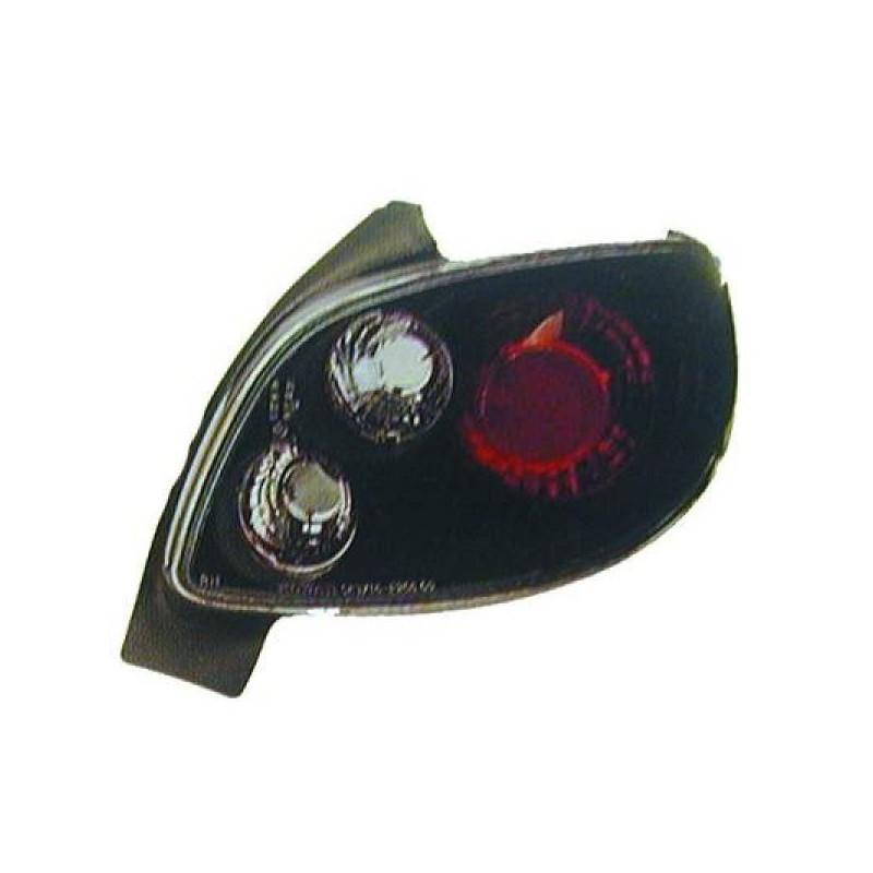 Feux arrières noir Peugeot 206 CC apres 1998