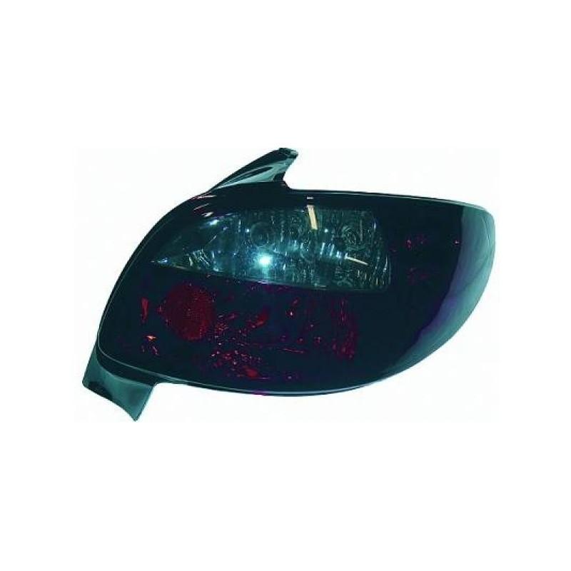 Feux arrières rouge/gris Peugeot 206 98-05 sauf Peugeot 206CC