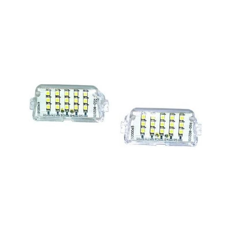 Eclairage plaque d'immatriculation Peugeot.206 98-10 LED