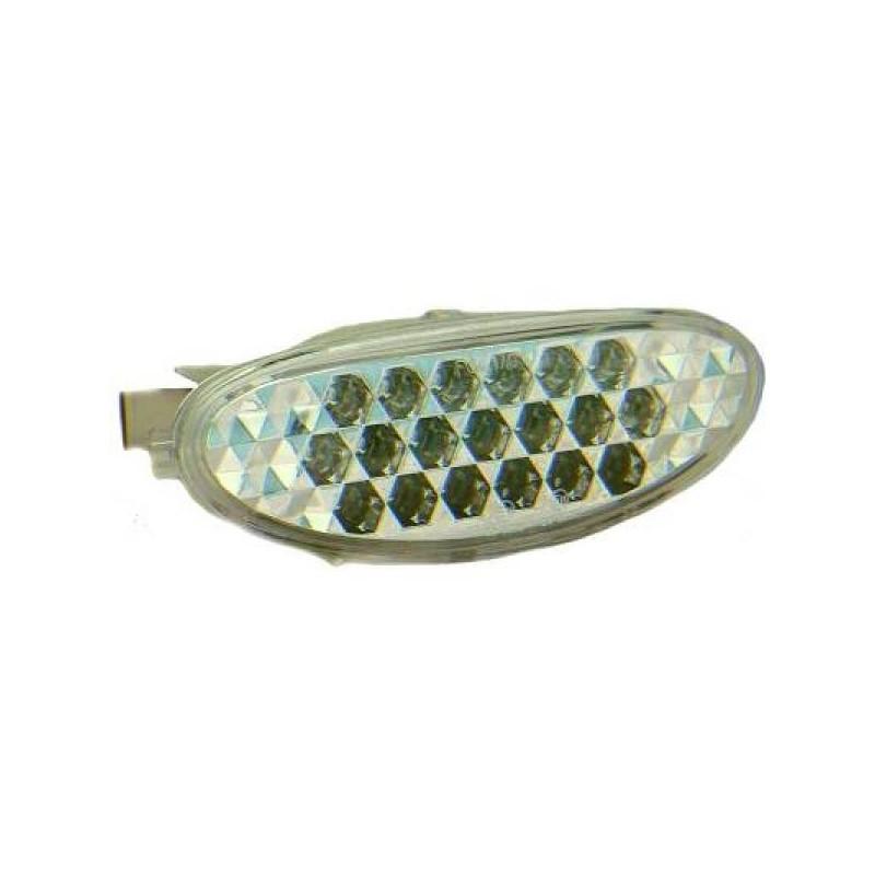 Feu brouillard arrière chrome LED PEUGEOT 206 98-06