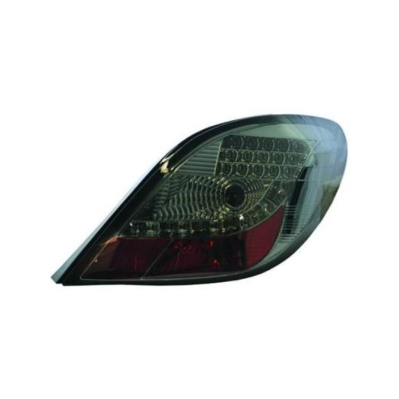 Feux arriere Peugeot 207 06-12 Berline LED cristal/fumé