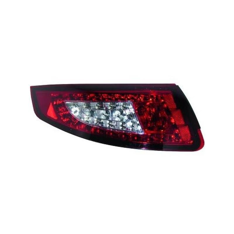 Feux arriere Porsche 997 04-08 LED rouge/blanc