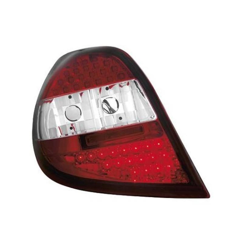 Feux arrières LED rouge/blanc Renault CLIO apres 09.2005
