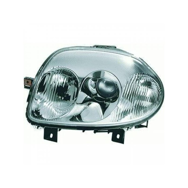 Phare design Droit Renault CLIO 98-01 chrome