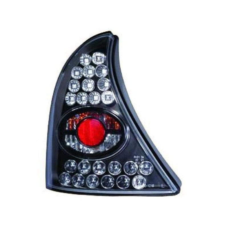 Feux arrières LED noir Renault CLIO II 98-01