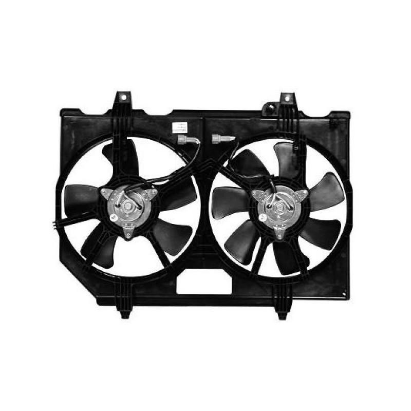 Motoventilateur complet NISSAN X-TRAIL 2003 à 2007 320mm