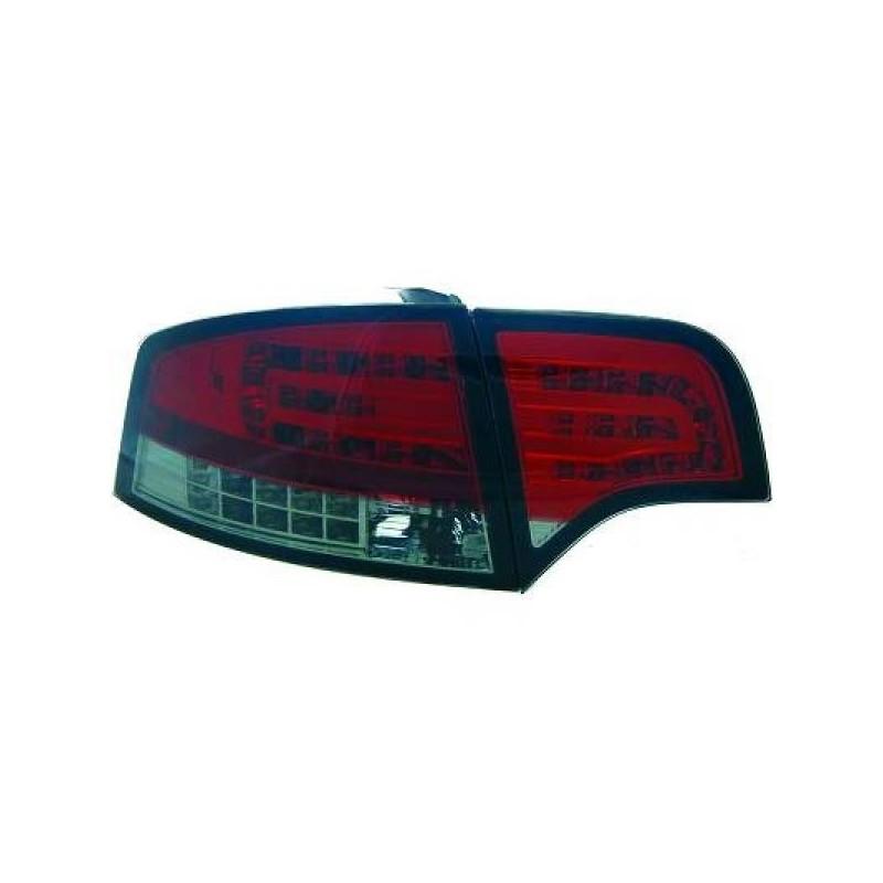Feux arriere Audi A4 04-07 LED/Berline cristal/rouge/noir