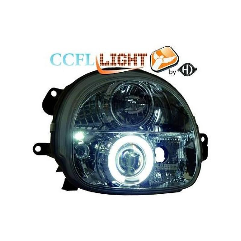 H4 phares noir droit TYC pour Renault Twingo 07-11