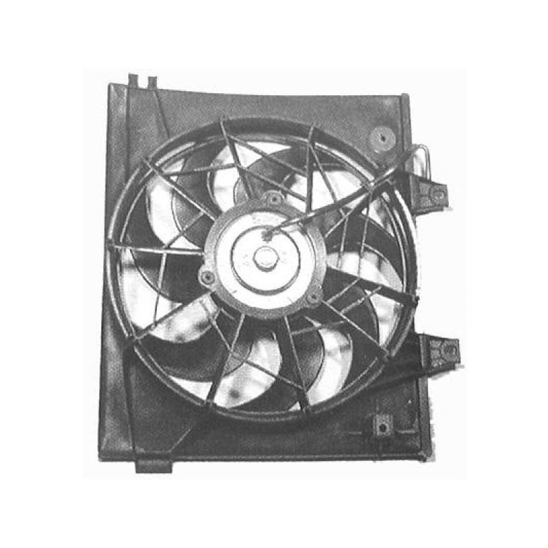 Motoventilateur suppl. complet KIA CLARUS 1996 à 1998