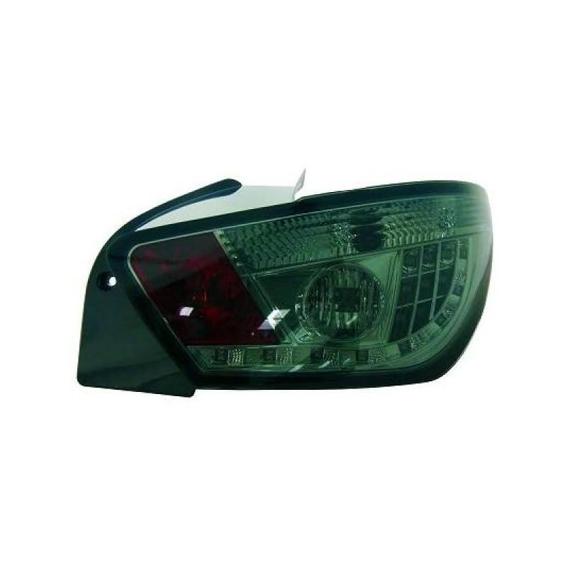 Feux arriere Seat IBIZA apres 2008 3-portes LED cristal/fumé