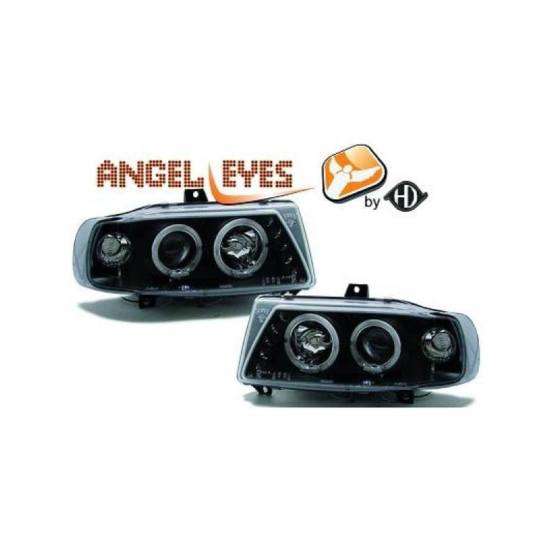 Phares angel eyes noir Seat IBIZA 93-99