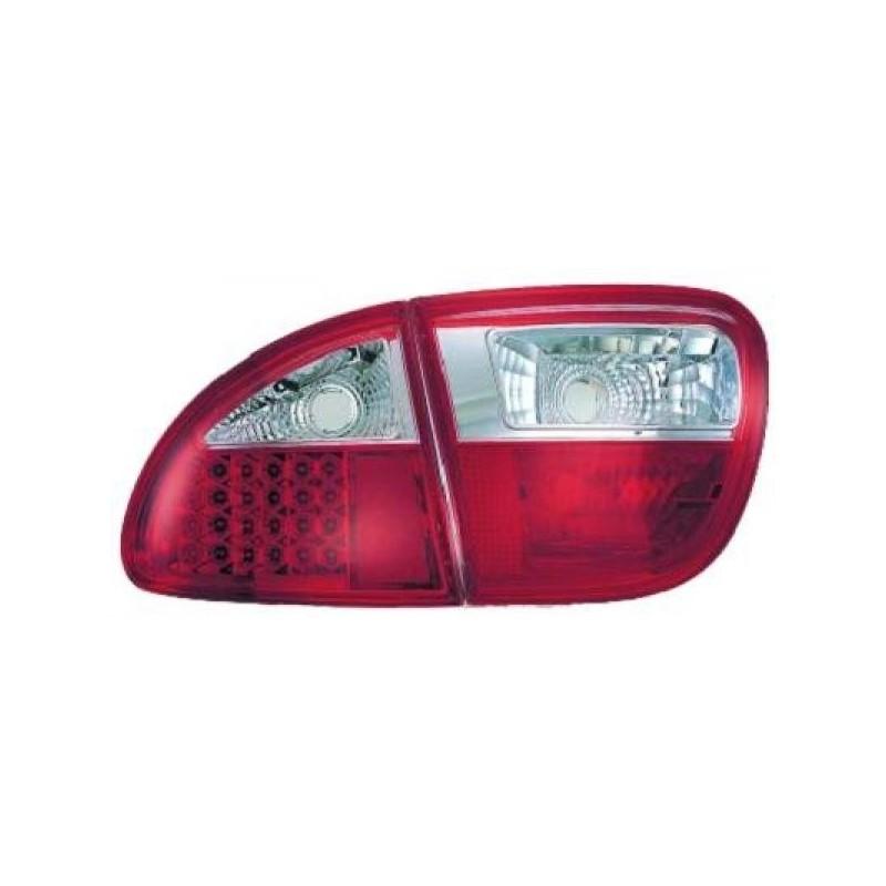 Feux arrières rouge/blanc LED Seat LEON 99-05