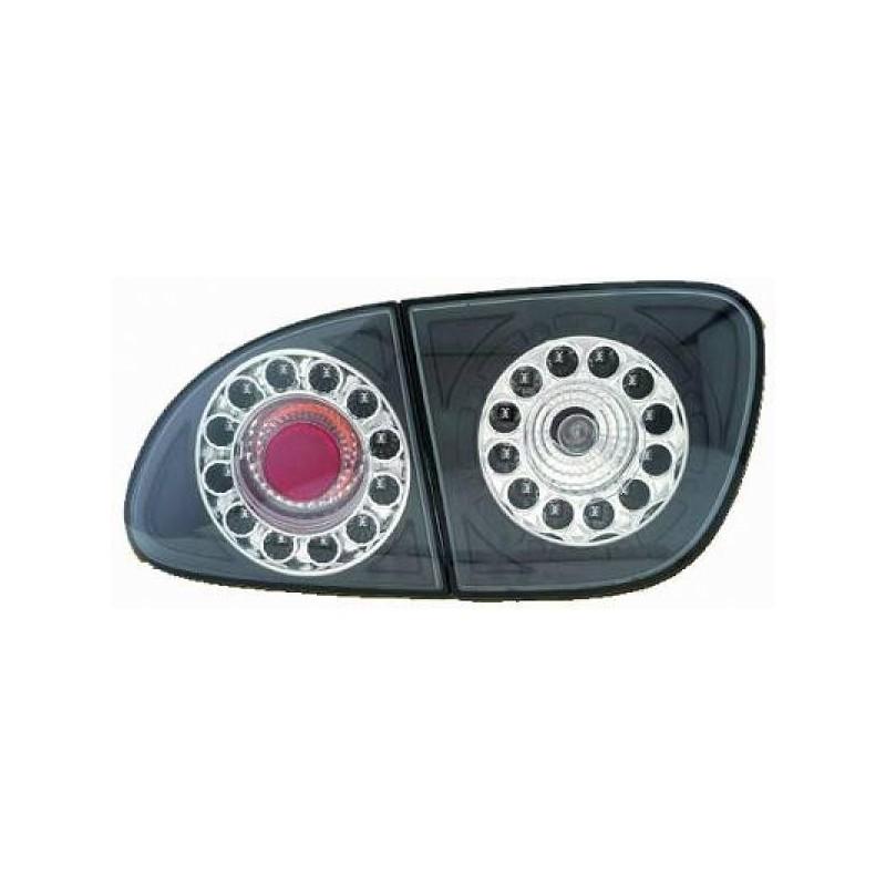 Feux arrières LED noir Seat LEON/TOLEDO 99-05