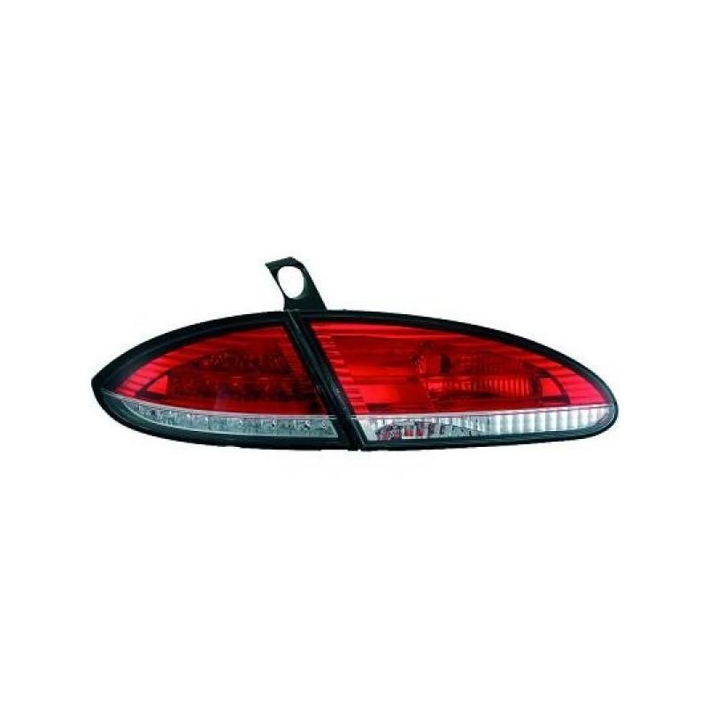 Feux arrières rouge/blanc LED Seat LEON 05-09
