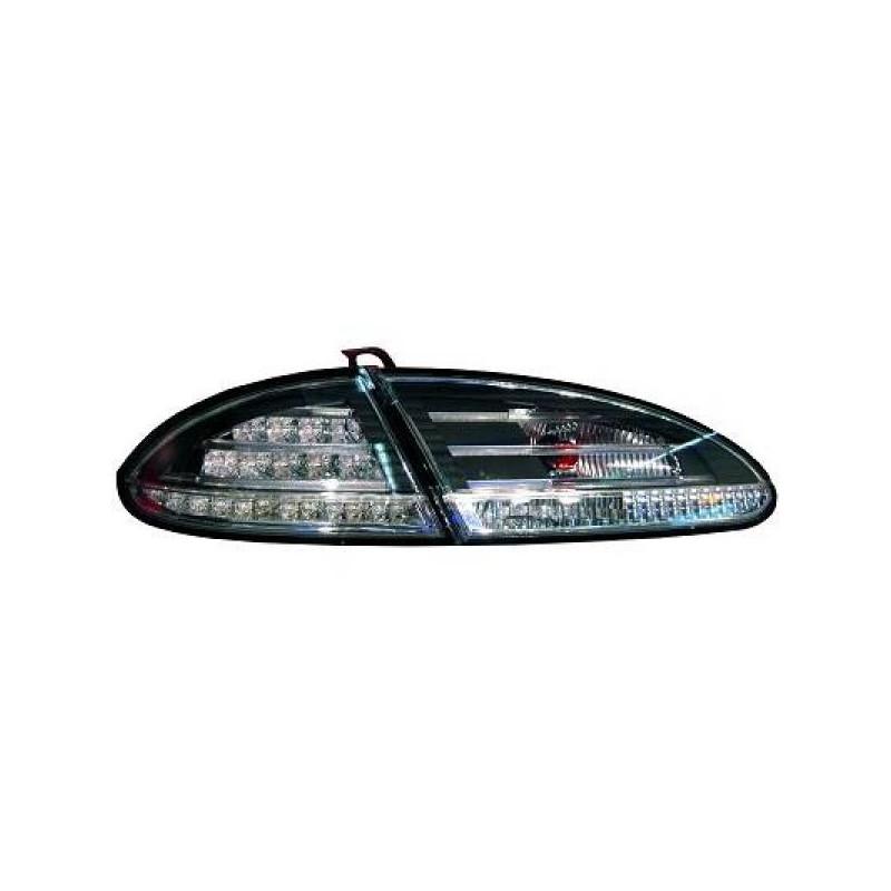 Feux arrières LED noir Seat LEON 05-09