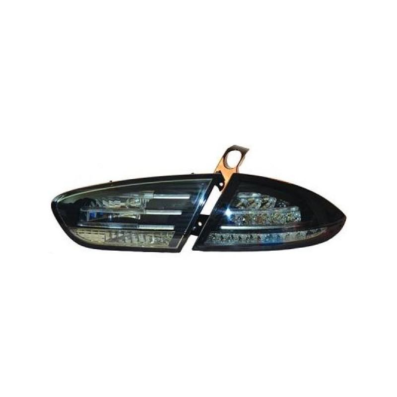 Feux arriere Seat LEON apres 2009 LED cristal/fumé-noir
