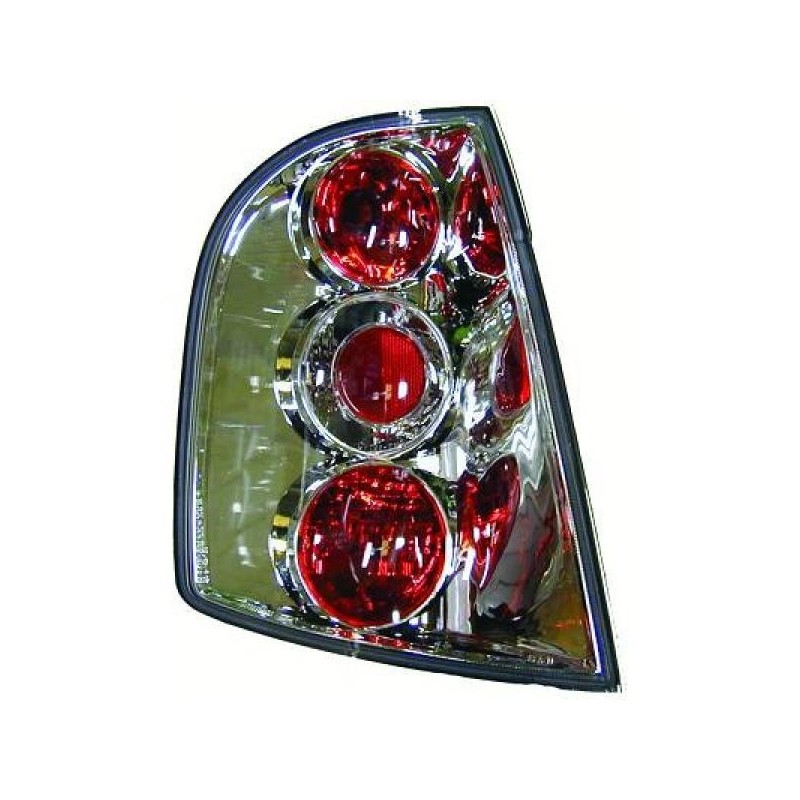 Feux arrières chrome Skoda FABIA 99-07 3/5-portes