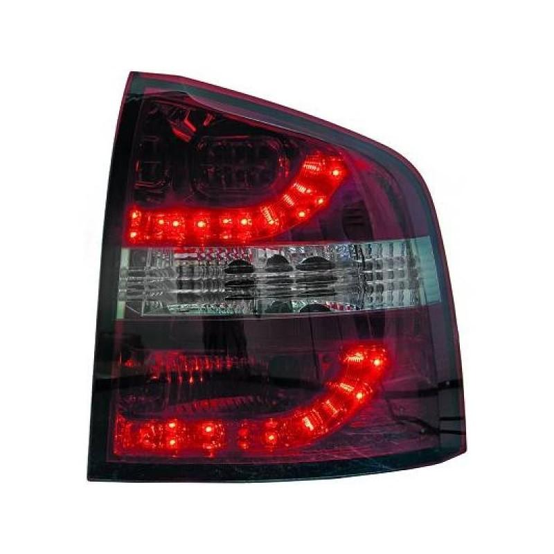 Feux arrière LED VERRE FUMEE/ROUGE FUMEE Skoda OCTAVIA apres 2005