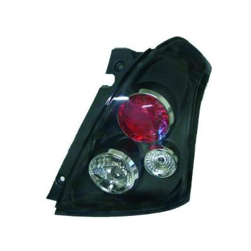 Feux arrières noir Suzuki SWIFT 05-10