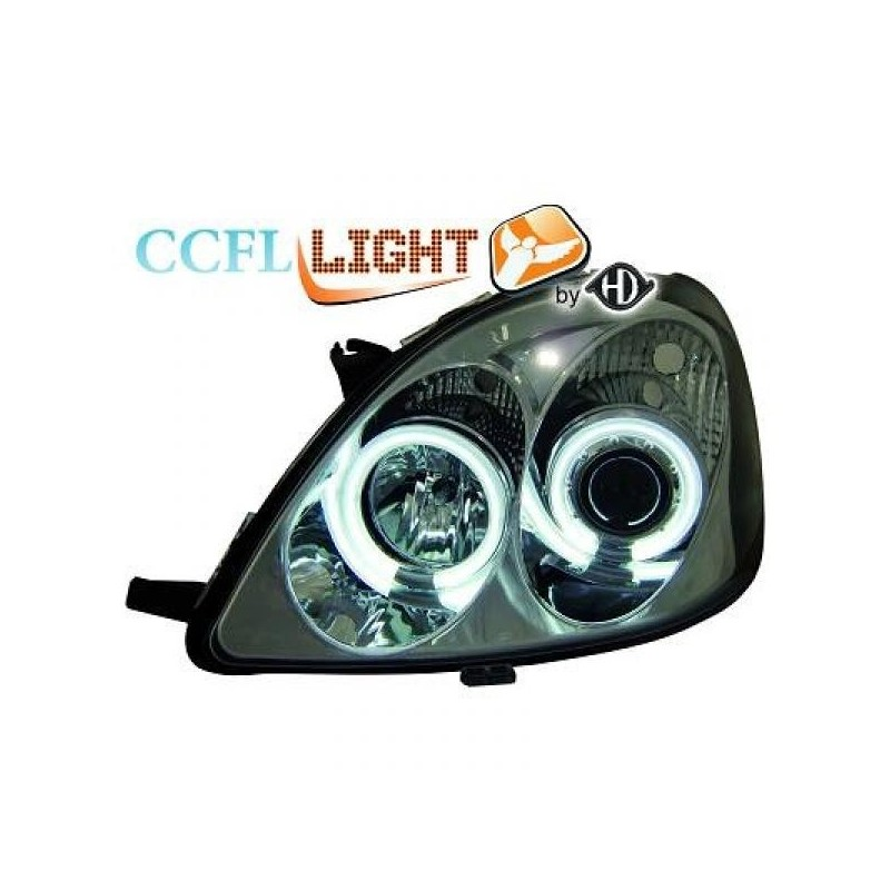 Phares angel eyes CCFL TOYOTA YARIS 98-05