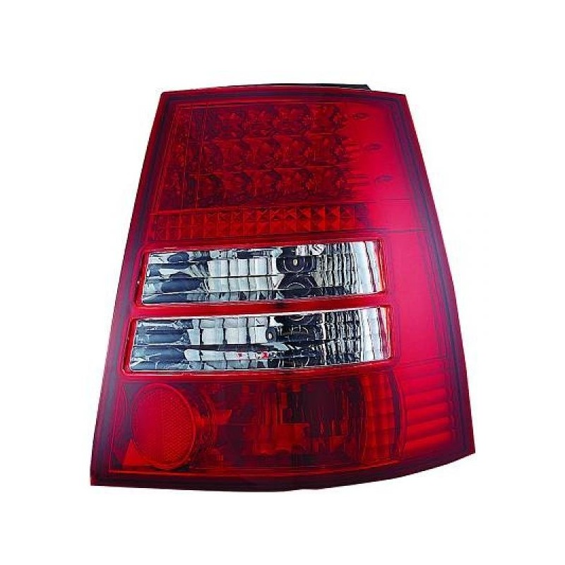 Feux arrières rouge/blanc LED Vw GOLF 4 Break 97-03