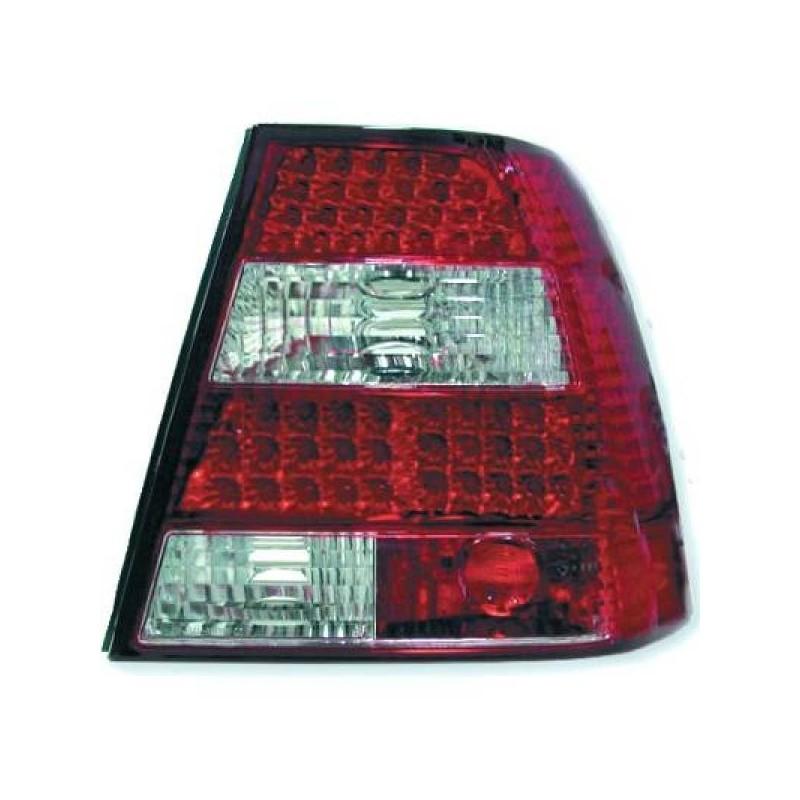 Feux arrières rouge/blanc LED Vw BORA 4-portes 98-05