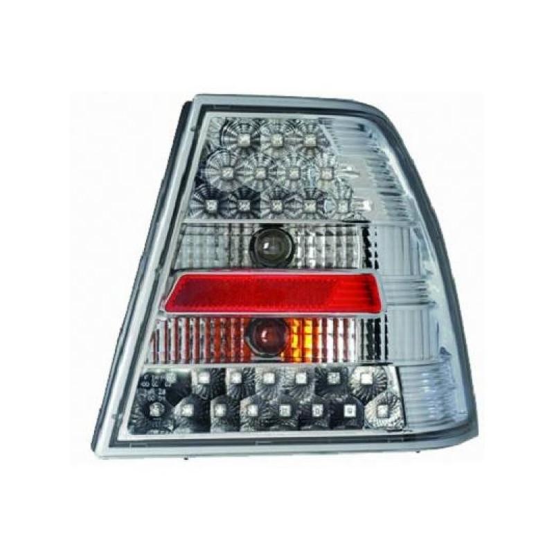 Feux arrières LED chrome Vw BORA Berline 98-05 4 portes
