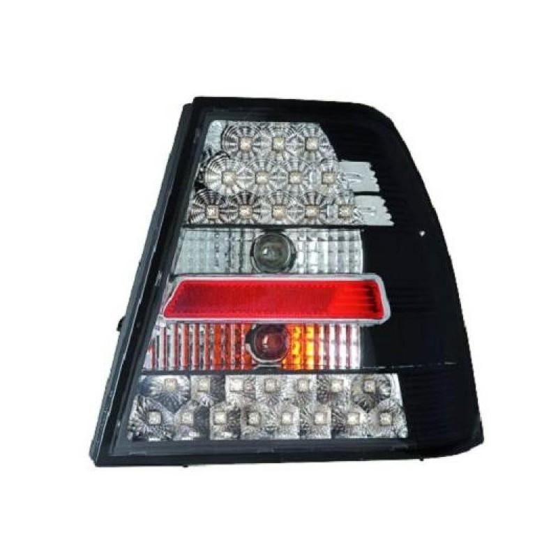 Feux arrières LED noir Vw BORA - Berline 98-05 4 portes