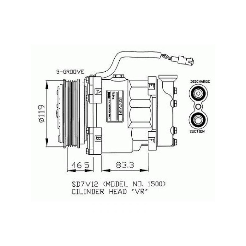 Compresseur modèle divers à partir de 1991