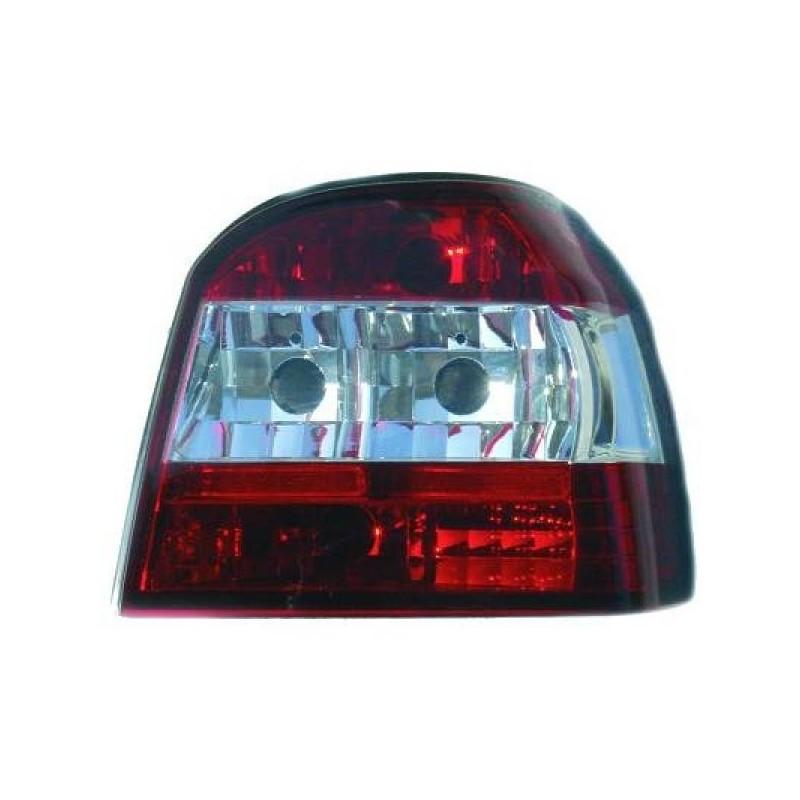 Feux arrières rouge/blanc Vw GOLF 4-portes 91-97