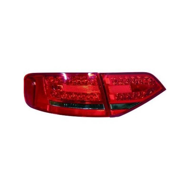 Feux arrières rouge/noir LED Audi A4 apres 2007 pour Berline