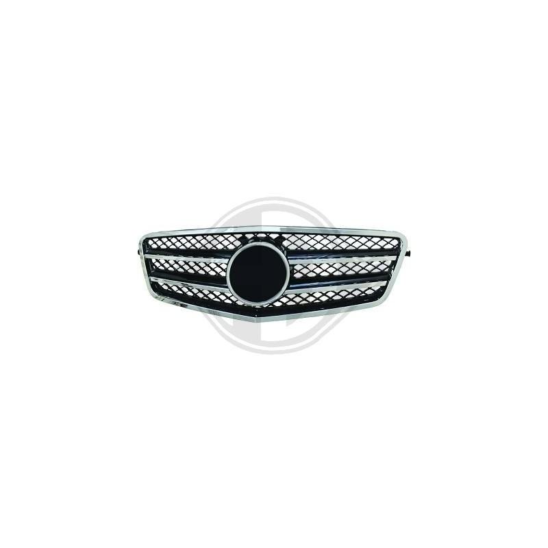 Calandre chrome/noir Mercedes W212 apres 2009 SPORTLOOK
