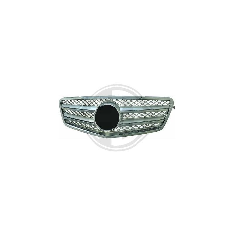 Calandre chrome/argent Mercedes W212 apres 2009 SPORTLOOK