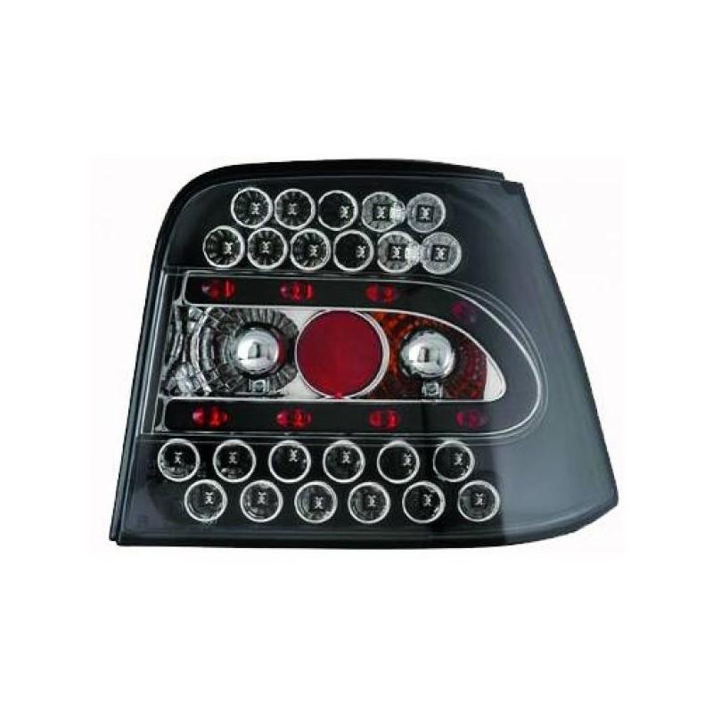Feux arrières LED noir Vw GOLF 4 Berline 97-03