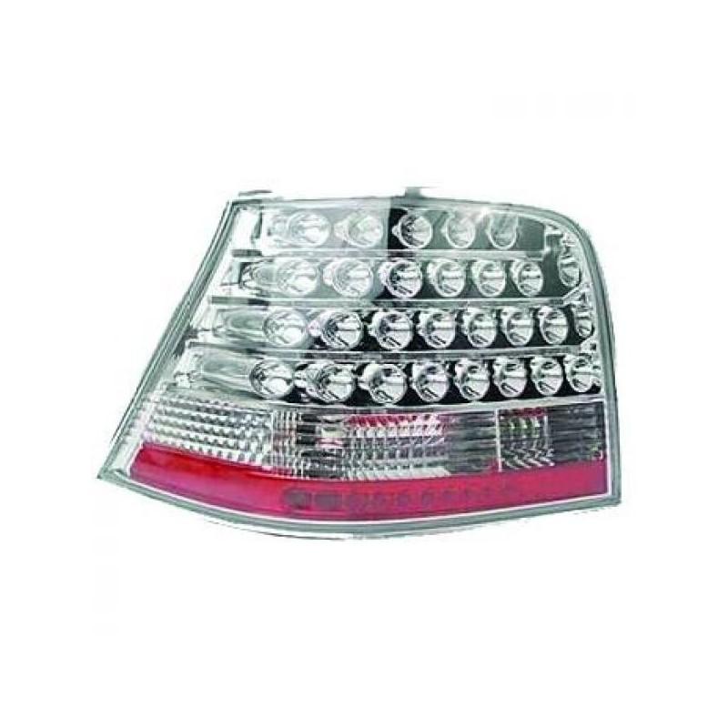 Feux arrières chrome LED Vw GOLF 4 3/5-portes 97-03
