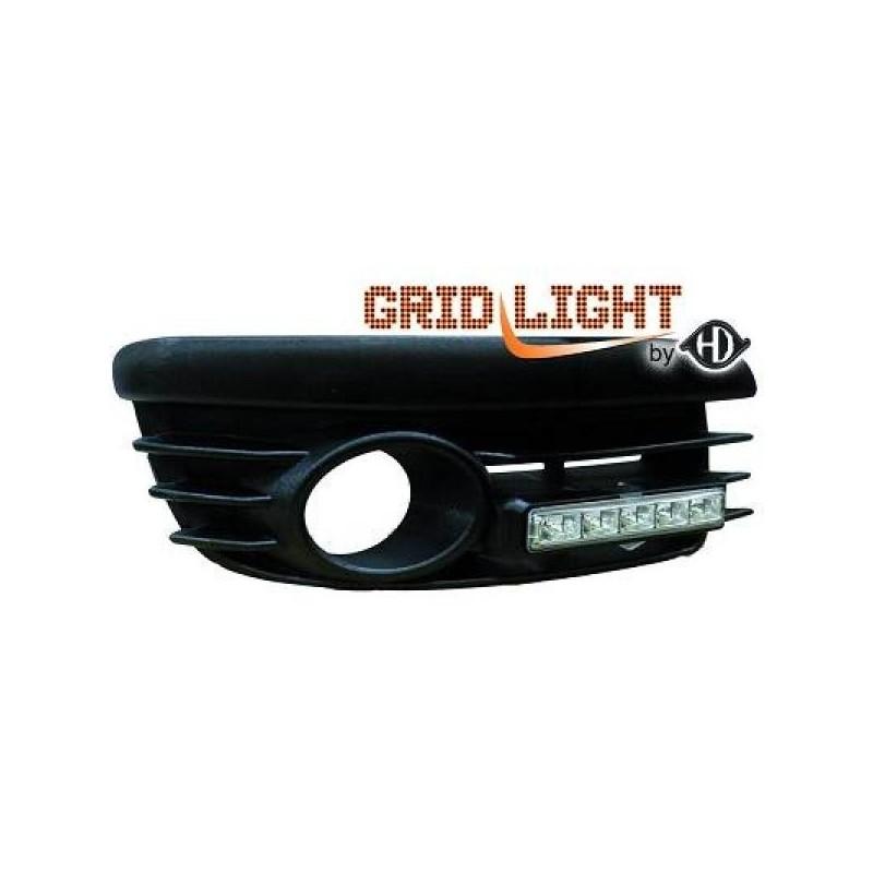 Feux de jour diurnes avec grilles pour anti-br. Vw GOLF V GTI 03-08