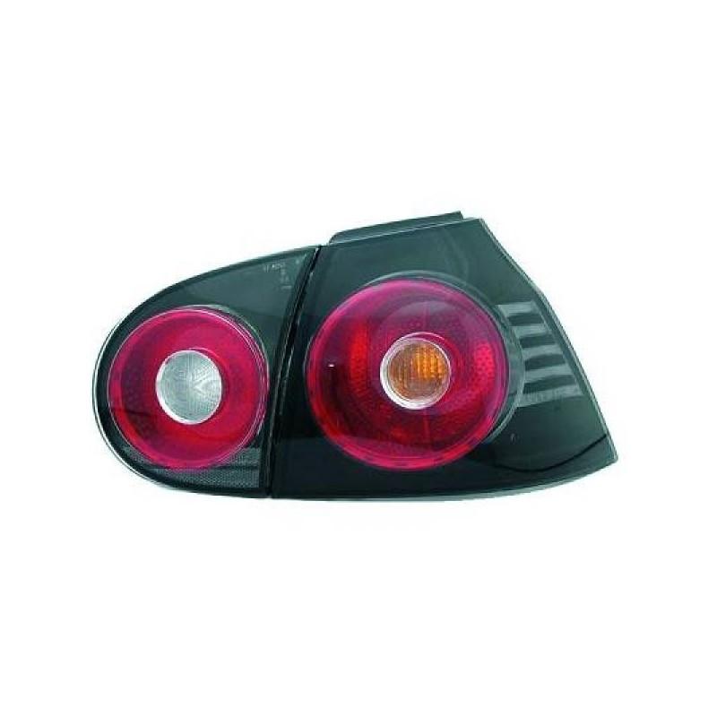 Feux arrières noir Vw GOLF 5 apres 2003