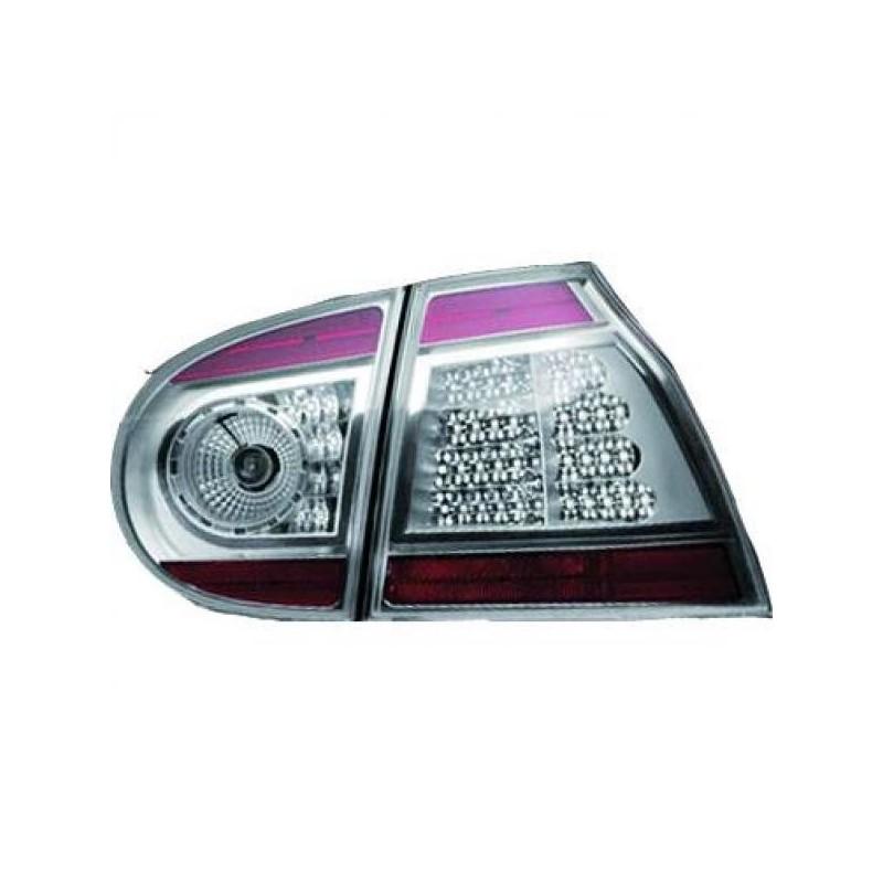 Feux arrières argent/rouge LED Vw GOLF Berline apres 2003