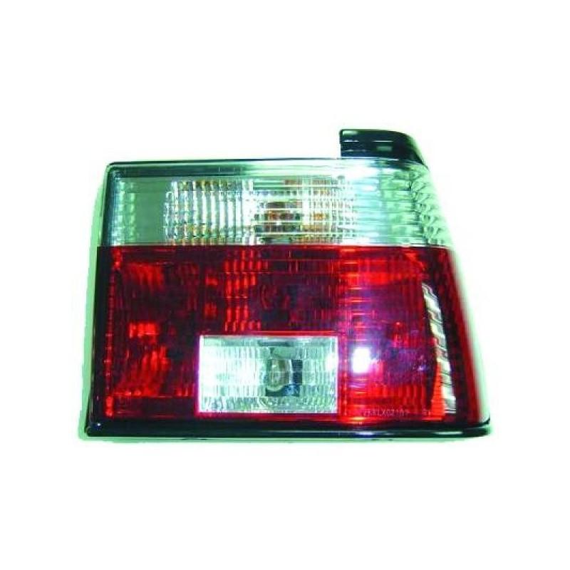 Feux arrières rouge/blanc Vw JETTA 1984-1991