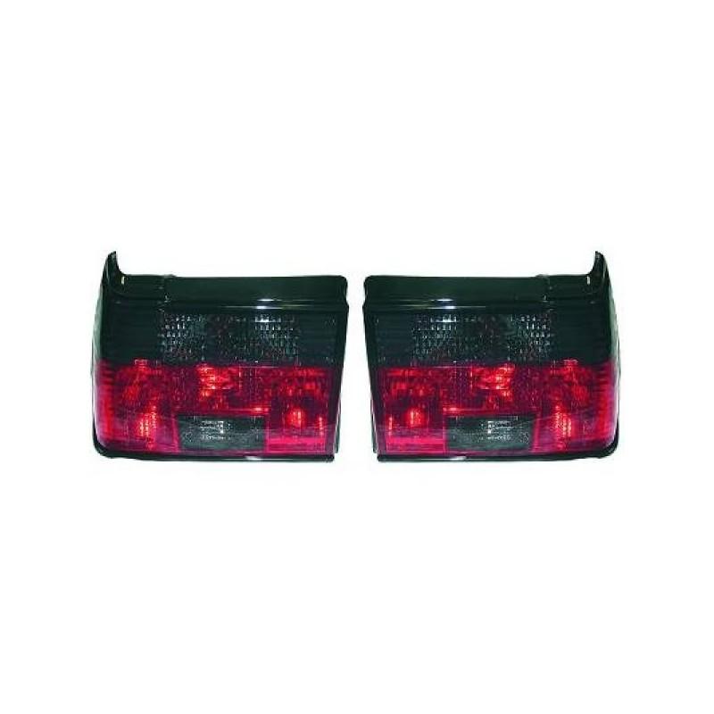 Feux arrières rouge/noir Vw JETTA 84-91