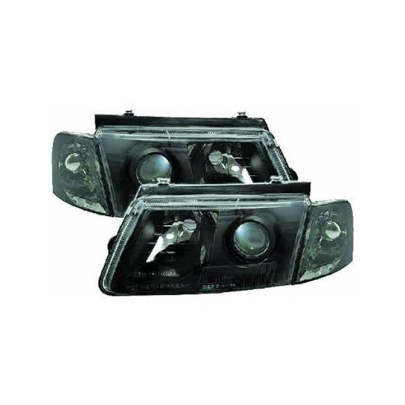 Phares design Vw PASSAT 96-00 cristal/noir