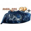 Phares angel eyes XENON noir Audi A6 97-01