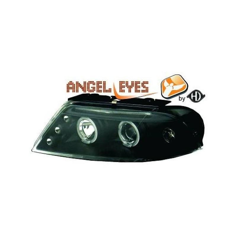 Phares angel eyes noir Vw Passat Lim./Kombi (Typ3BG) 00-05