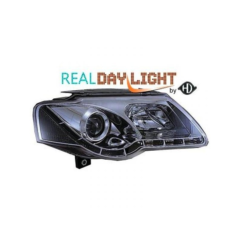 Phares DEVIL EYES Vw PASSAT 05-10 chrome