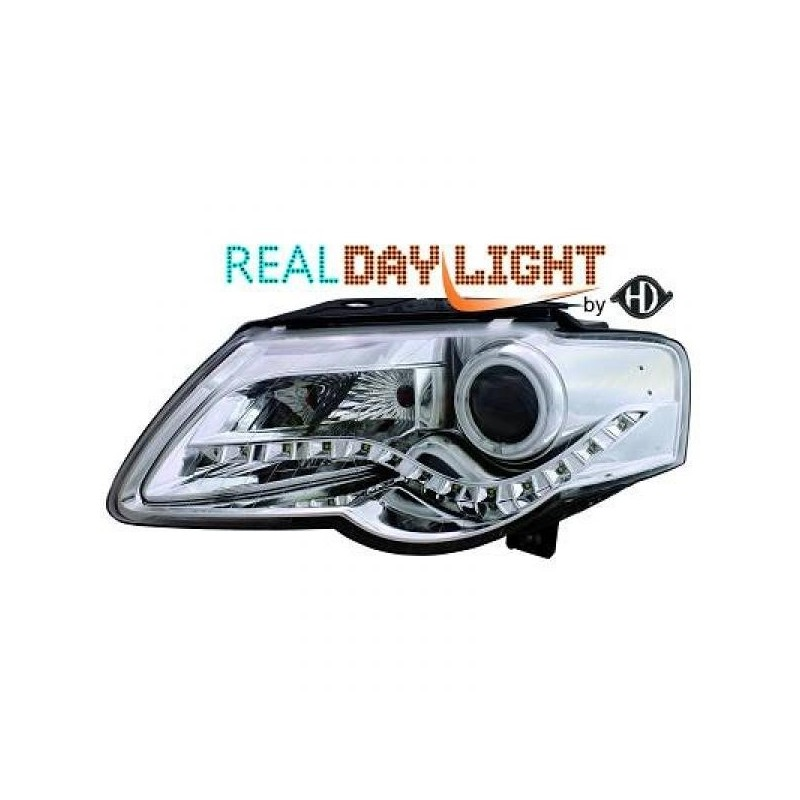 Phares DEVIL EYES CCFL Vw PASSAT 05-10 chrome