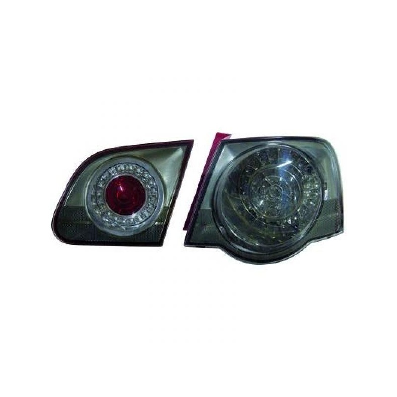 Feux arrière Vw PASSAT 05-10 Berline LED cristal/fumé-noir