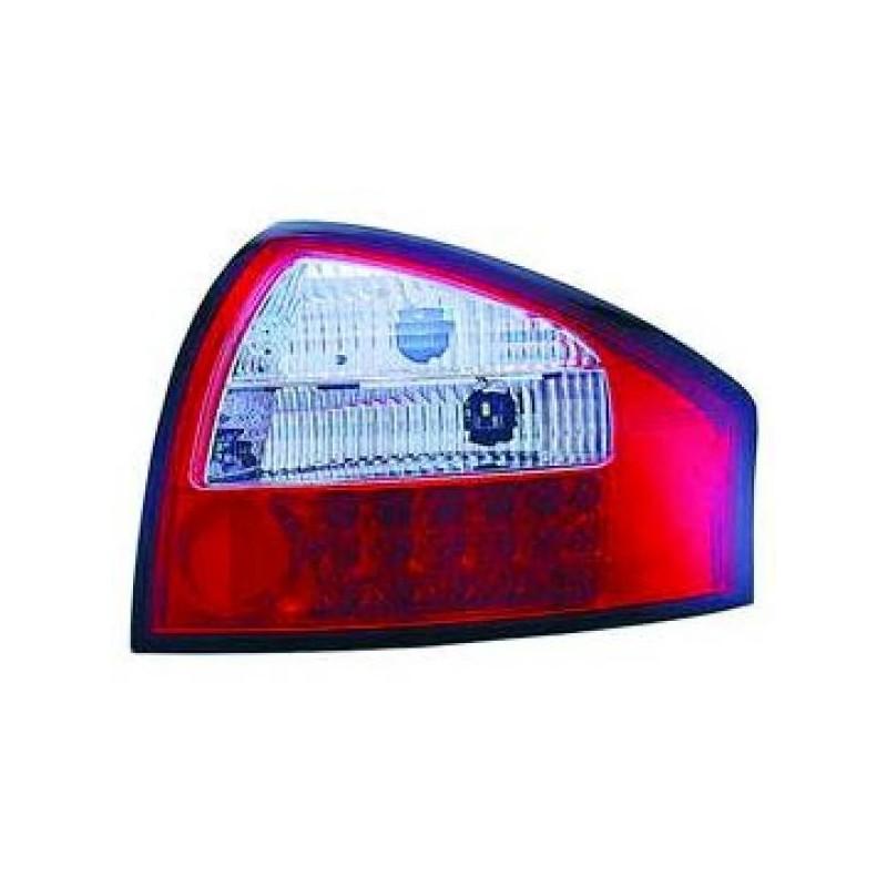 Feux arrières rouge/blanc LED Audi A6 97-04 Berline
